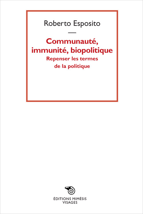 france-esposito-communaute-immunite-biopolitique
