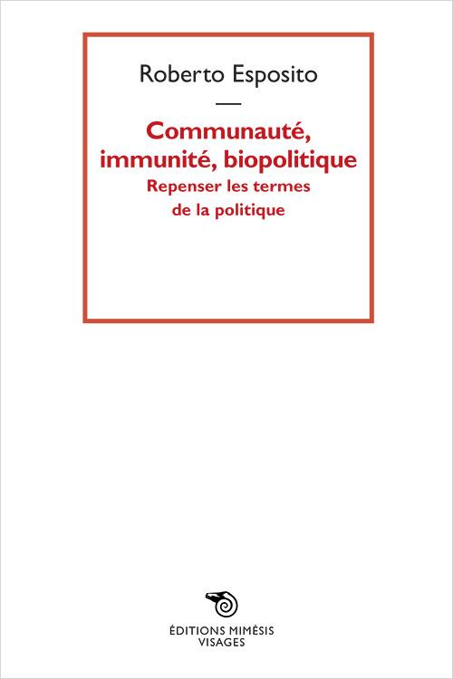 france-esposito-communaute-immunite-biopolitique